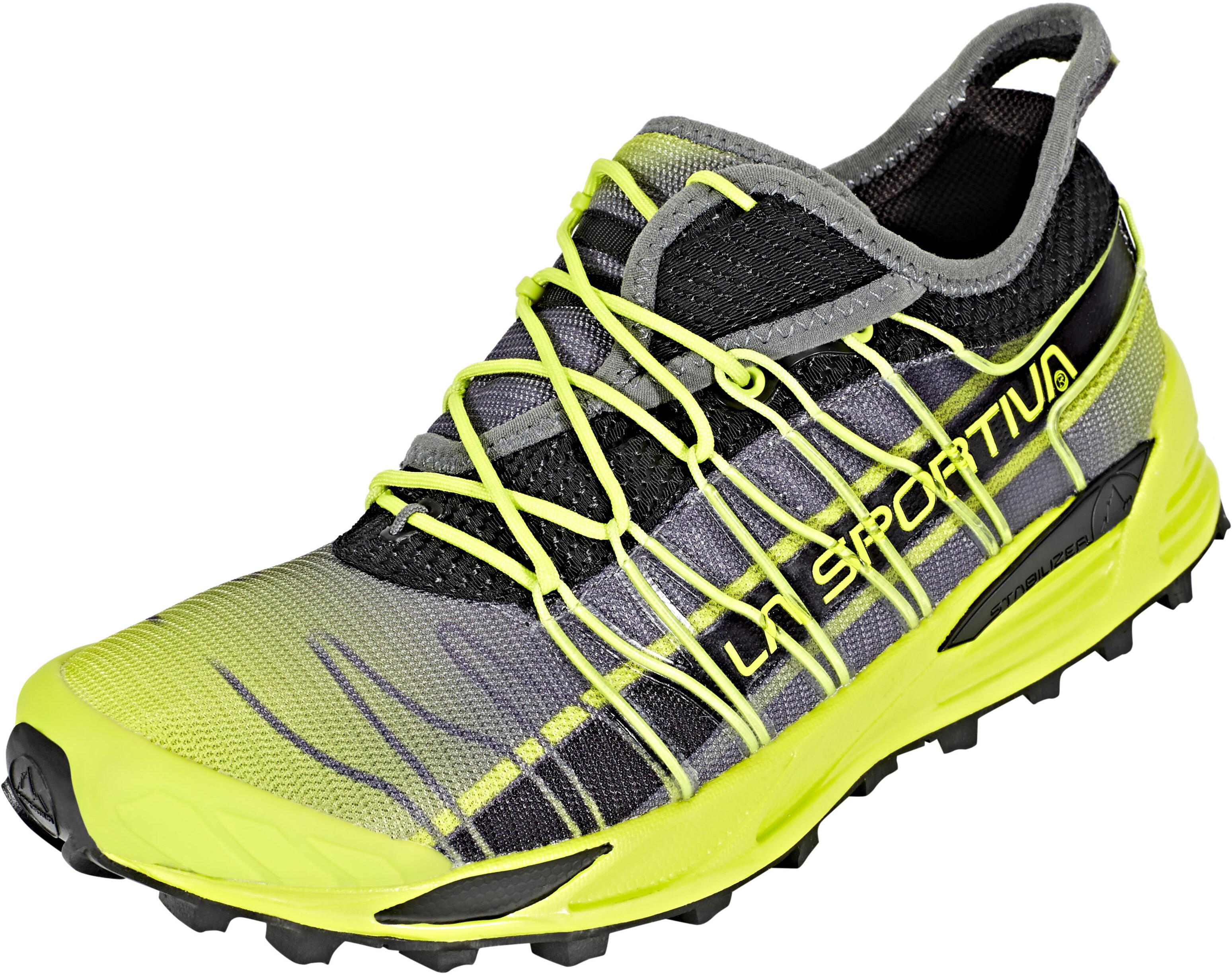 La Sportiva Mutant scarpe da corsa Uomo giallo grigio su Addnature d18d3b09200